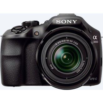 Appareil photo hybride Sony A3000 + Objectif 18-55 mm Noir