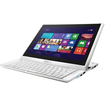 "PC Portable MSI S20 0M-005FR - Ecran 11,6"" Tactile, Core i5, SSD 64Go, RAM 4Go"