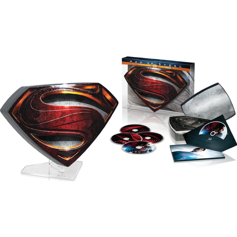 Coffret Man of Steel DVD + Blu-Ray + Blu-Ray 3D - Edition Collector