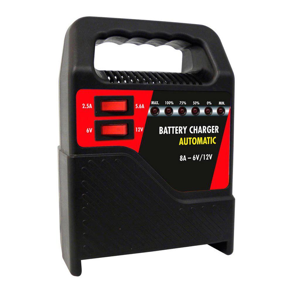 Chargeur de batterie Carpoint auto 8A