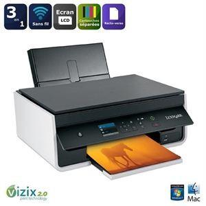 Imprimante multifonctions 3 en 1 Lexmark S315 Jet d'encre couleur Wifi