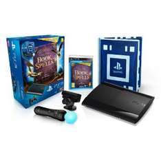 Console PS3 Ultra slim 12 Go noire + Pack découverte PlayStation Move + Book of Spells + Wonderbook