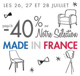 Jusqu' à 40 % de remise sur une sélection d'articles made in France