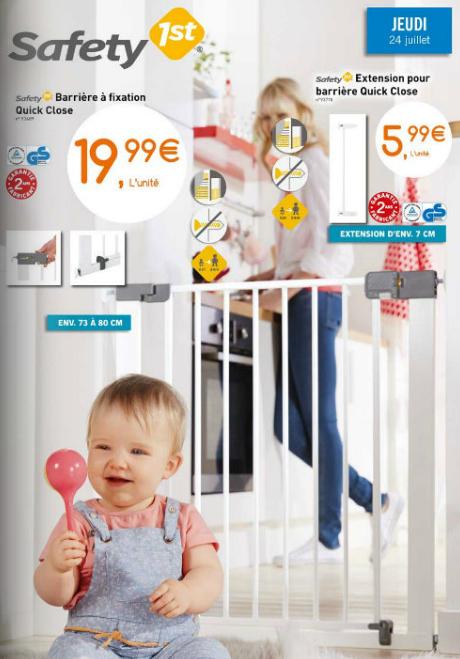Barrière sécurité enfant Safety 1st