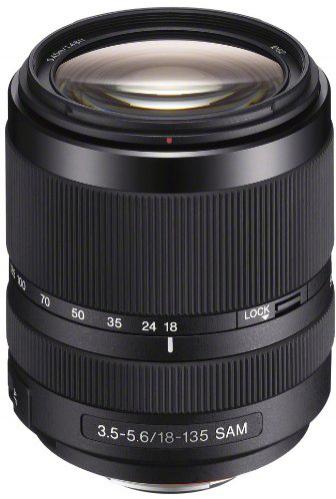 Objectif Sony SAL-18135.AE 18-135 mm F3.5-5.6 Noir (avec ODR 30€)