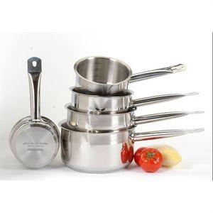 lot de 5 casseroles ART & CUISINE Gamme PRO 12/14/16/18/20 cm