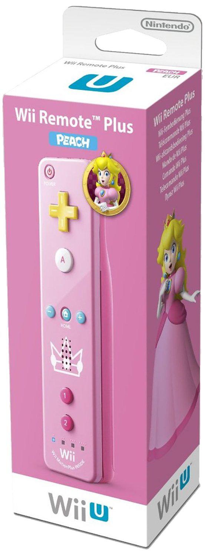 Télécommande Nintendo Wii U Plus 'Princess Peach' - rose