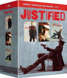 Coffret DVD Justified intégrales saisons 1-2-3