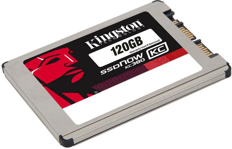 """SSD  1.8"""" Kingston SSDNow KC380 120 Go micro SATA"""