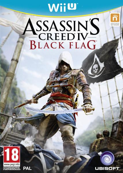 Sélection de jeux Wii U en promotion - Ex : Assasin's Creed Black Flag, Tom Clancy's Blacklist, Just Dance 2014... l'unité