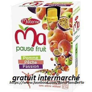 Ma pause fruit Materne - Différentes variétés (4 x 120 g) gratuit (au lieu de 1.95€)