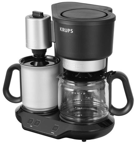 Cafetière Cafe & Latte Krups YY8316FD avec mousseur à lait