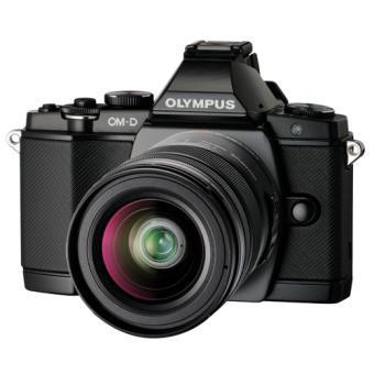 [Offre adhérents] Hybride Olympus OMD E-M5 noir + 3 objectifs + Grip + Poignée + Flash