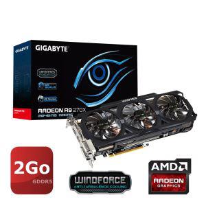 Carte graphique Gigabyte AMD Radeon R9 270X 2Go GDDR5