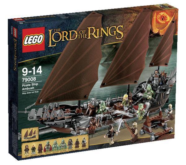 Lego 79008 LOTR : l'embuscade du bateau pirate