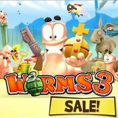 Worms 3 sur Android