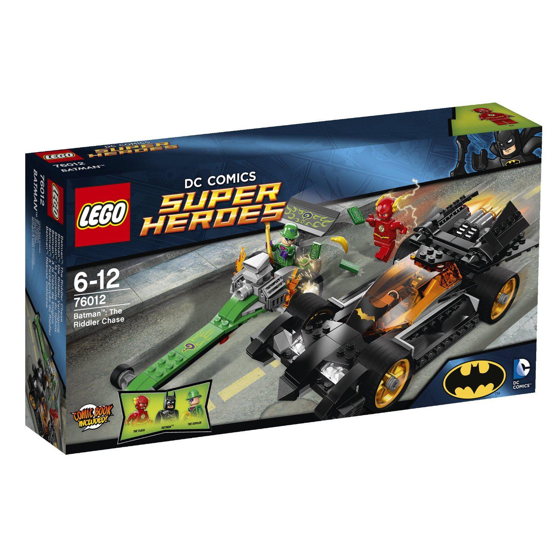 Lego Super Heroes Batman - La Poursuite Du Sphinx (76012)