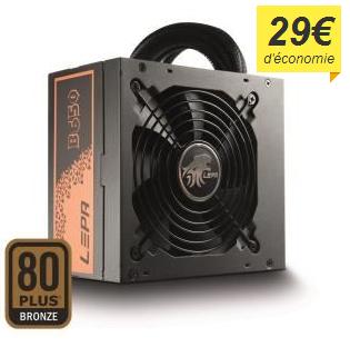 Alimentation PC 650W LEPA 80+ Bronze