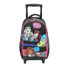 Sac à dos roulettes Monster High - Fille