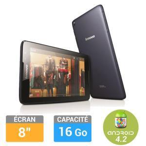 """Tablette Lenovo IdeaTab A8-50/8121 8"""" 16Go (avec ODR 30€)"""
