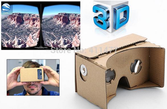 Casque réalité virtuelle Google cardboard