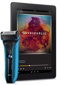 Un rasoir Braun Waterflex WF2S acheté = 50€ de remise sur les liseuses Kindle Paperwhite et tablettes Kindle Fire