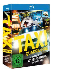 Coffret Blu Ray Quadrilogie Taxi