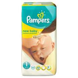 45 couches Pampers New Baby T1 + 2 poupées Lissi Jumeaux 30 cm offertes (valeur: 8€)