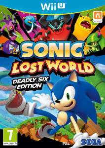 Jeu Sonic Lost World sur  Wii U