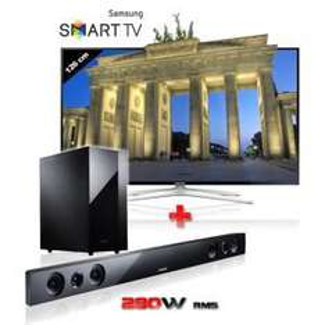 "Téléviseur 50"" Samsung UE50H6400 - Smart TV 3D + Barre de Son 2.1 Samsung HW-F450"