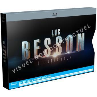 """Intégrale Luc Besson 15 Blu-Ray et 1 DVD + carte cadeau Blu-Ray de """"Lucy"""" + 30€ Adhérents compte fidélité"""