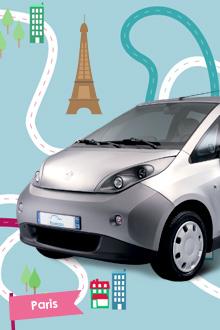 Abonnement d'un an à Autolib' - Paris et Ile de France