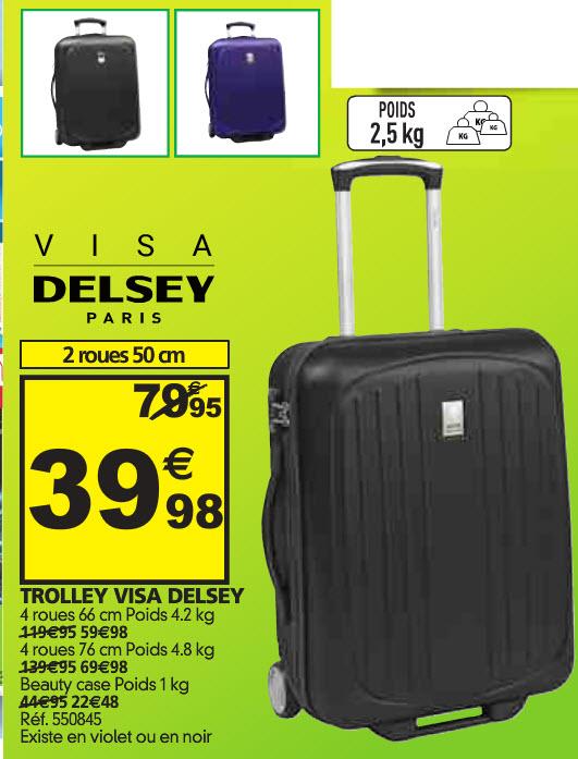 Valise Visa Delsey Paris / Beauty Case