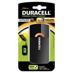Chargeur nomade USB Duracell PPS3H 1150 mAh
