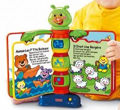 Prix coûtant sur une sélection de jeux et jouets - Ex : Livre interactif Comptines Fisher-Price