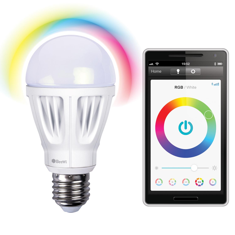 Ampoule LED Bluetooth ( ou en Wifi avec passerelle ) - BeeWi BBL207A1