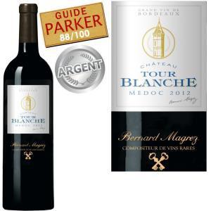 Vin rouge Château  Tour Blanche Médoc 2012
