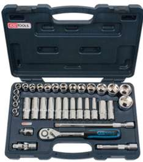 "Coffret de douilles 1/2"" KS Tools 918.0635 (10 à 34 mm) - 35 pcs"