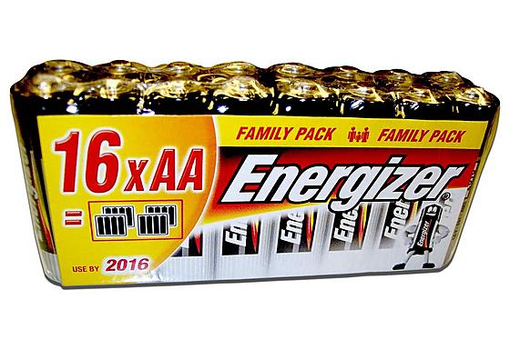32 Piles alcalines LR06 (AA) ou LR03 (AAA) Energizer