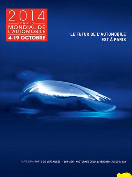 Billet Mondial de l'auto Paris