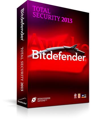 Licence 1 an Logiciel Bitdefender Total Security 2015