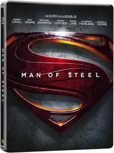Blu-Ray 3D Man Of Steel edition limitée Steelbook