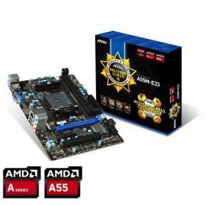 Carte mere micro ATXMSI A55M-E33