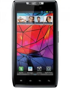 "Motorola Razr Graphite Noir  4.3"" Super AMOLED 1.2 Ghz Dual-Core"