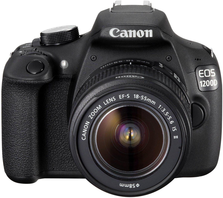 Appareil photo reflex Canon EOS 1200D 18 Mpix + Objectif 18-55mm IS II - Noir