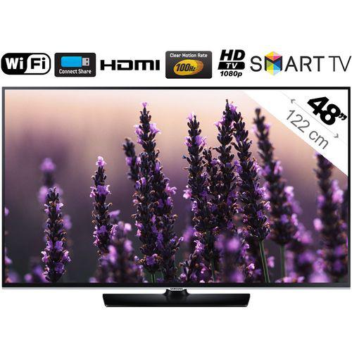 Téléviseur LED 48'' Samsung UE48H5500 - 1080p, Smart TV