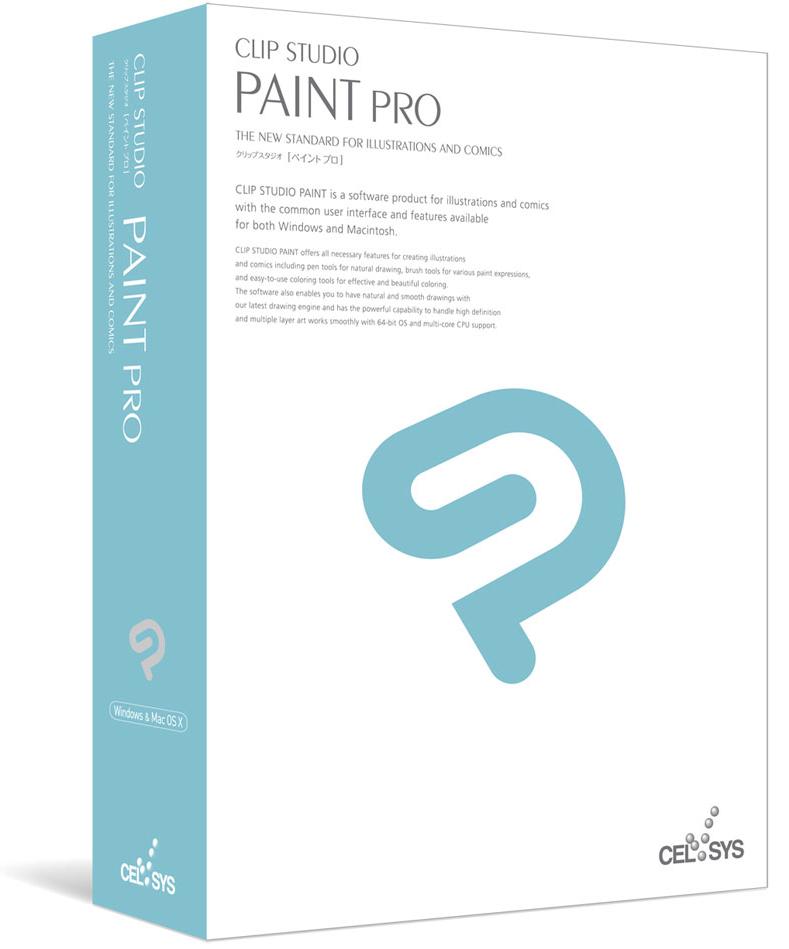 Logiciel de dessin numérique Clip Studio Paint Pro