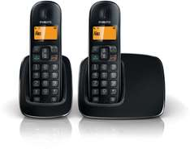 Téléphone fixe sans fil 2 combinés Philips CD1912B/FT