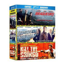Coffret Blu-ray braquage 3 films : Braqueurs + Braquage à New York + Kill the Gringo