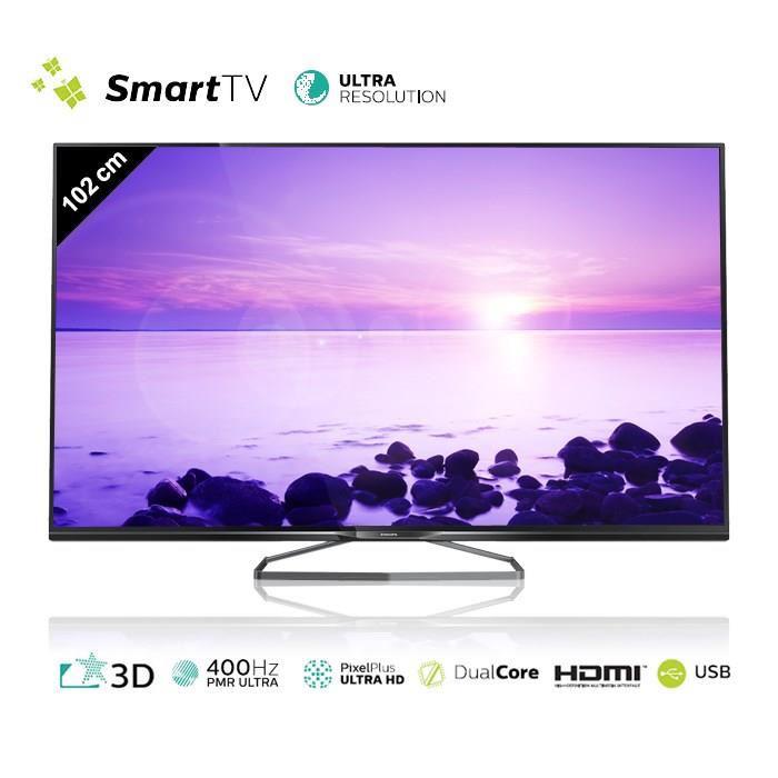 """TV UHD Philips 40PUK6809 40"""" 3D 4K smart TV"""